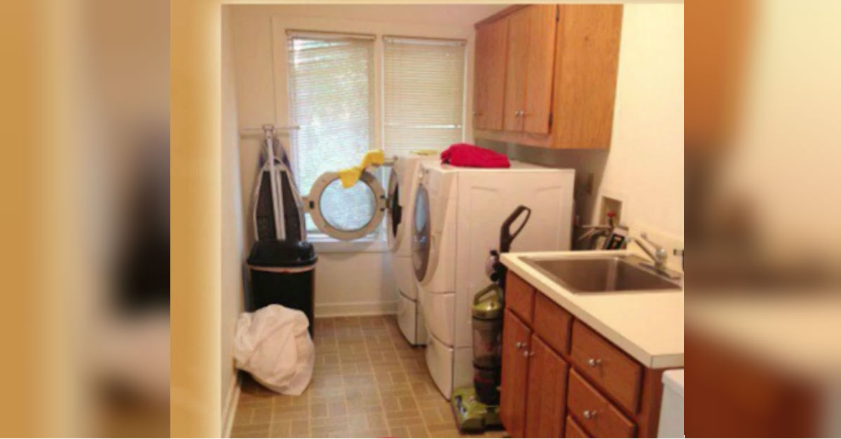 Wife Spends $71 And Redoes Her Entire Laundry Room In 2 ...